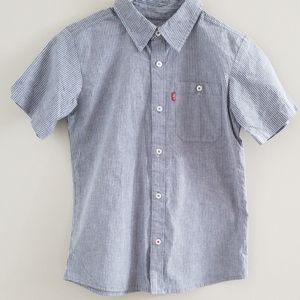 Levi's Pin Stripe Button Up Shirt